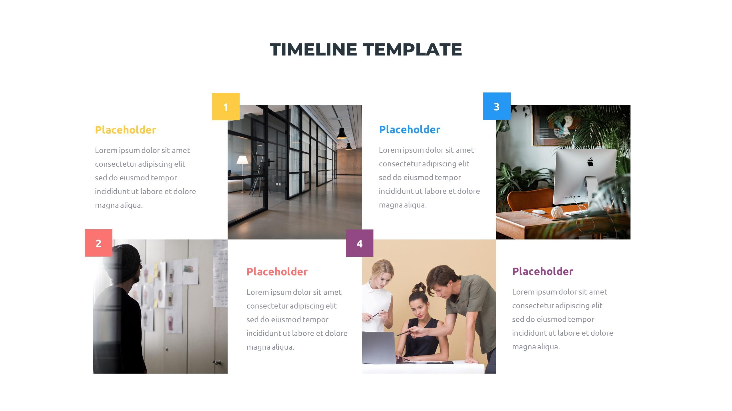36 Timeline Presentation Templates: Powerpoint, Google Slides, Keynote - Slide6 1
