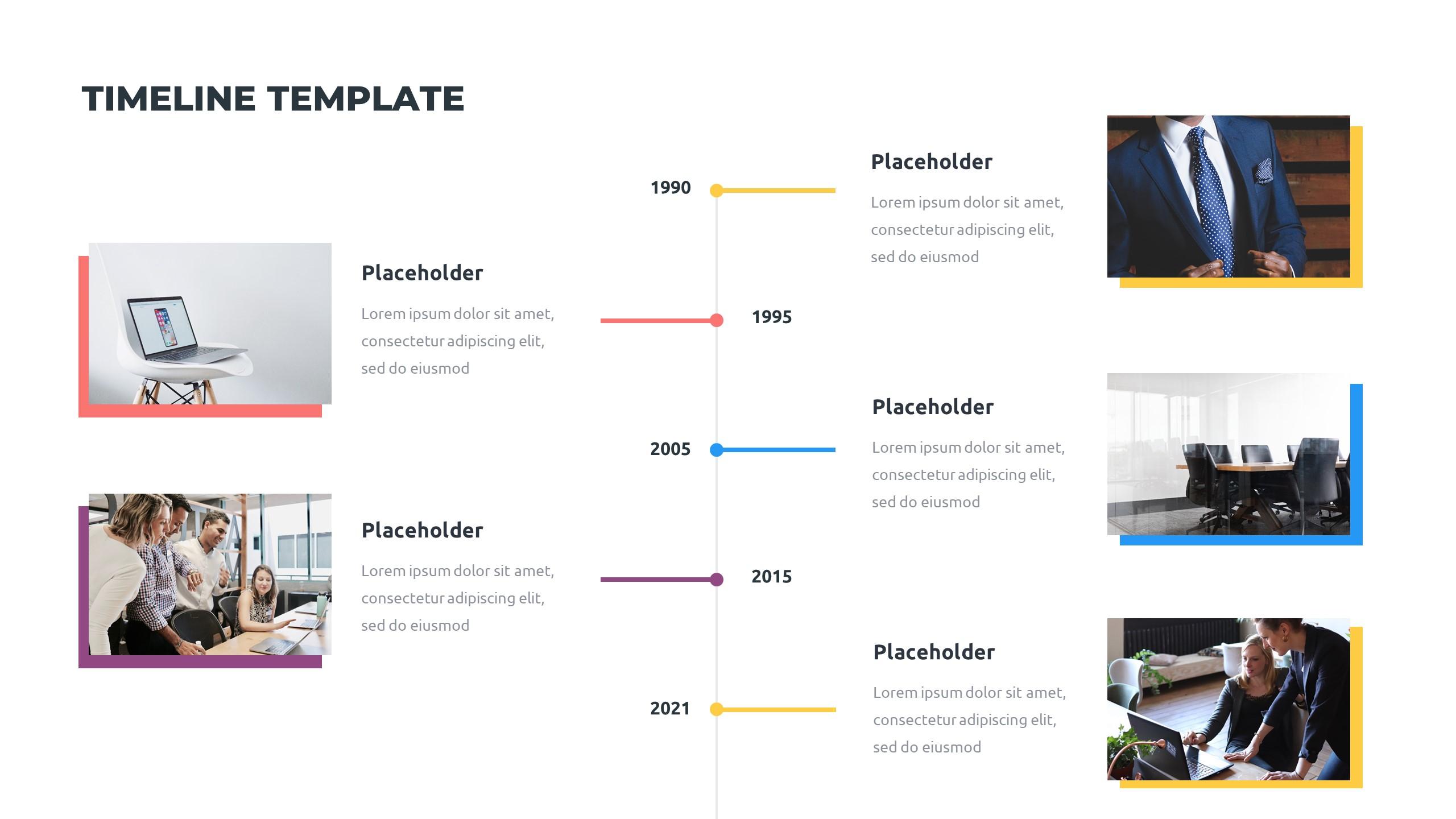 36 Timeline Presentation Templates: Powerpoint, Google Slides, Keynote - Slide7 1