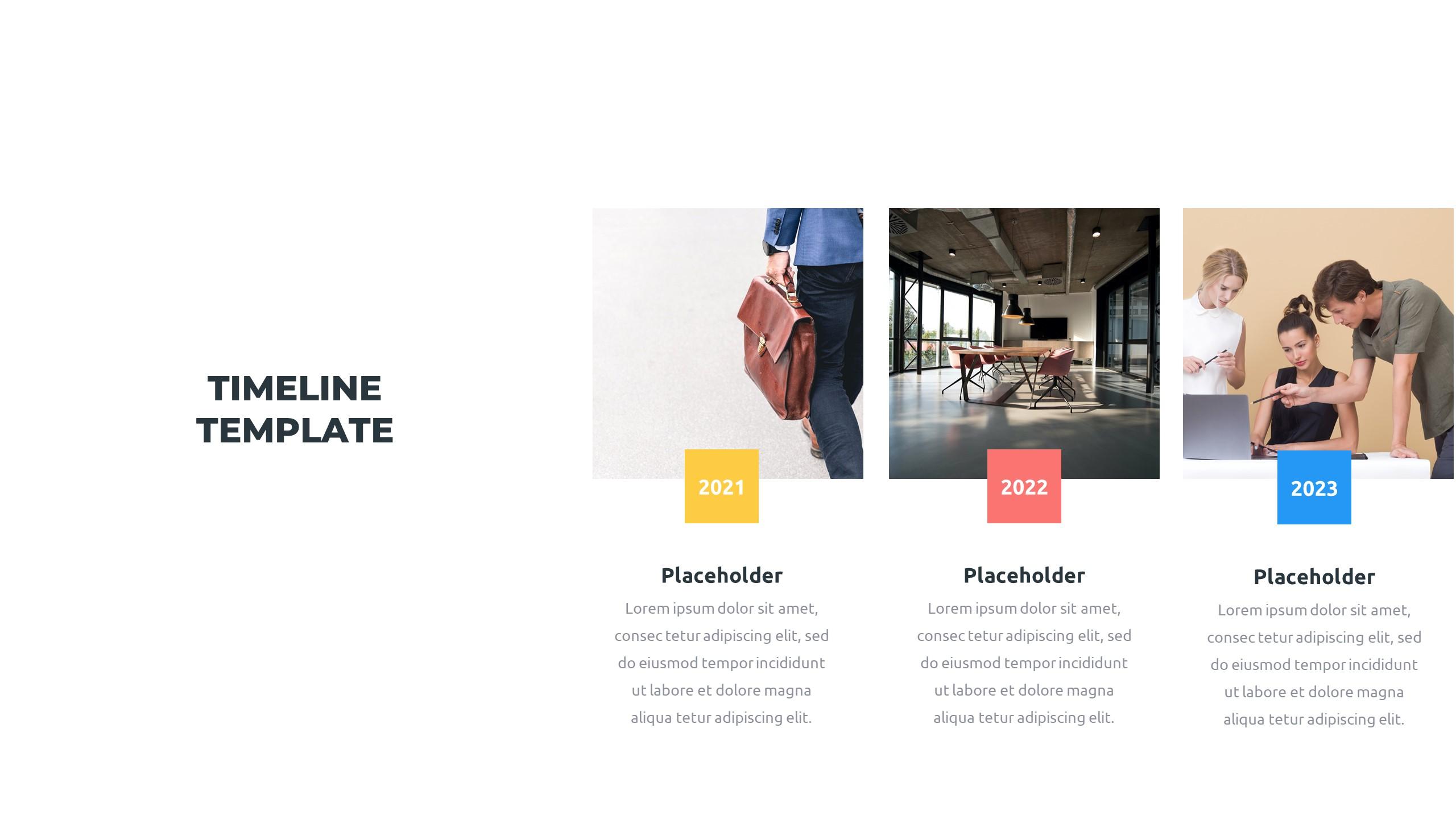 36 Timeline Presentation Templates: Powerpoint, Google Slides, Keynote - Slide8 1