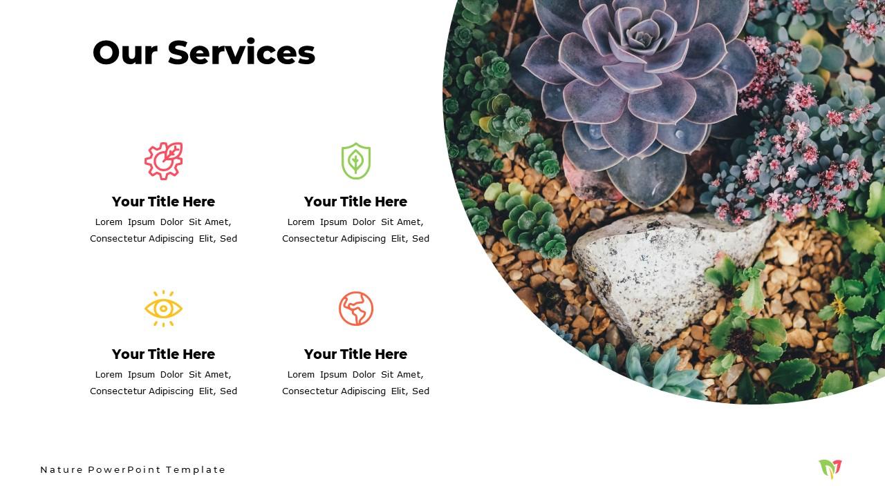 Nature  Powerpoint Template and Google Slide Theme - Bonus: Keynote Template - Slide8 2