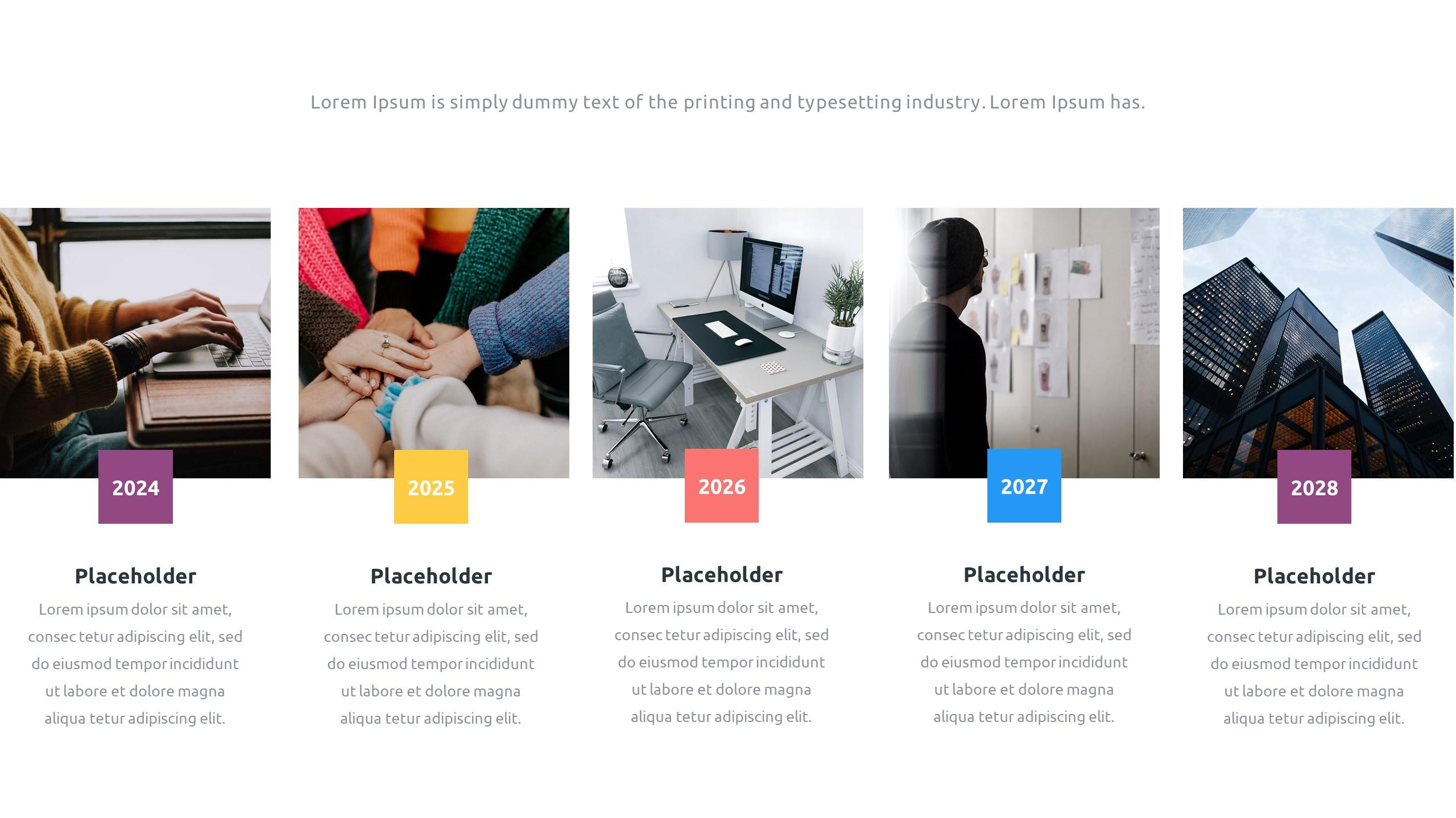 36 Timeline Presentation Templates: Powerpoint, Google Slides, Keynote - Slide9 1