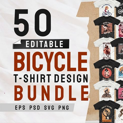Bicycle T-shirt Designs