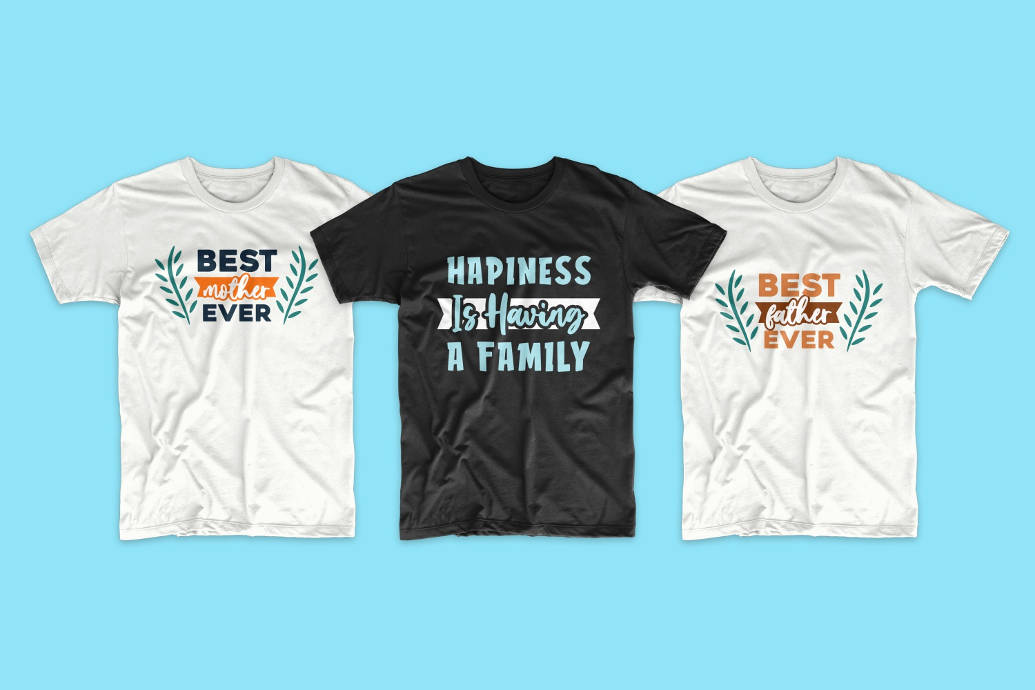 50 Family T-shirt Design Bundle - cf 10 1