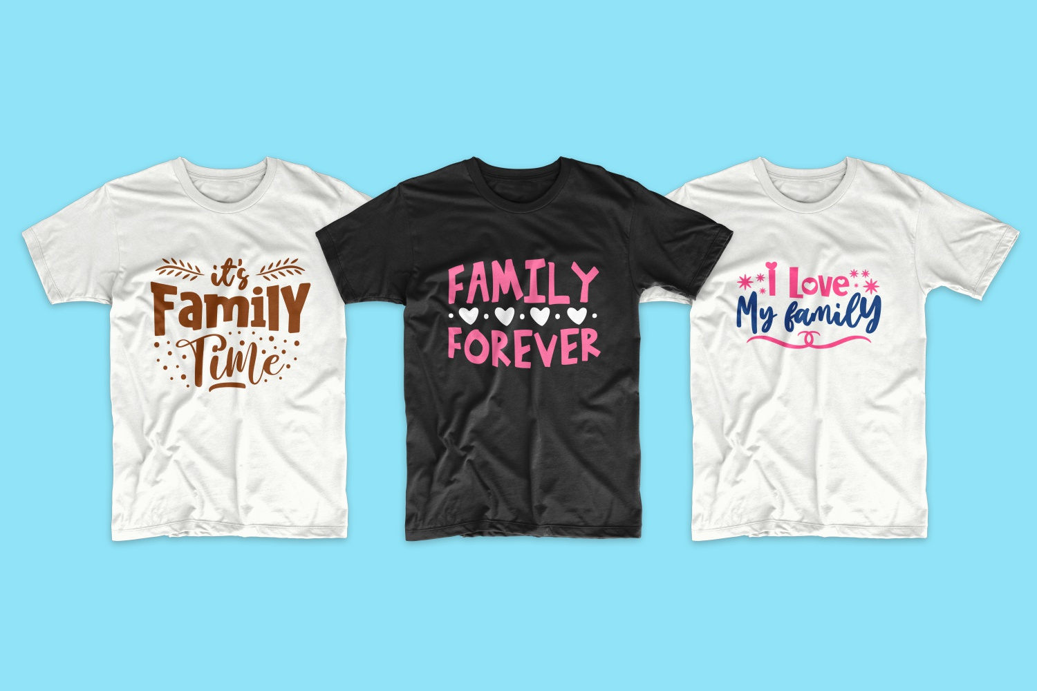 50 Family T-shirt Design Bundle - cf 11 1