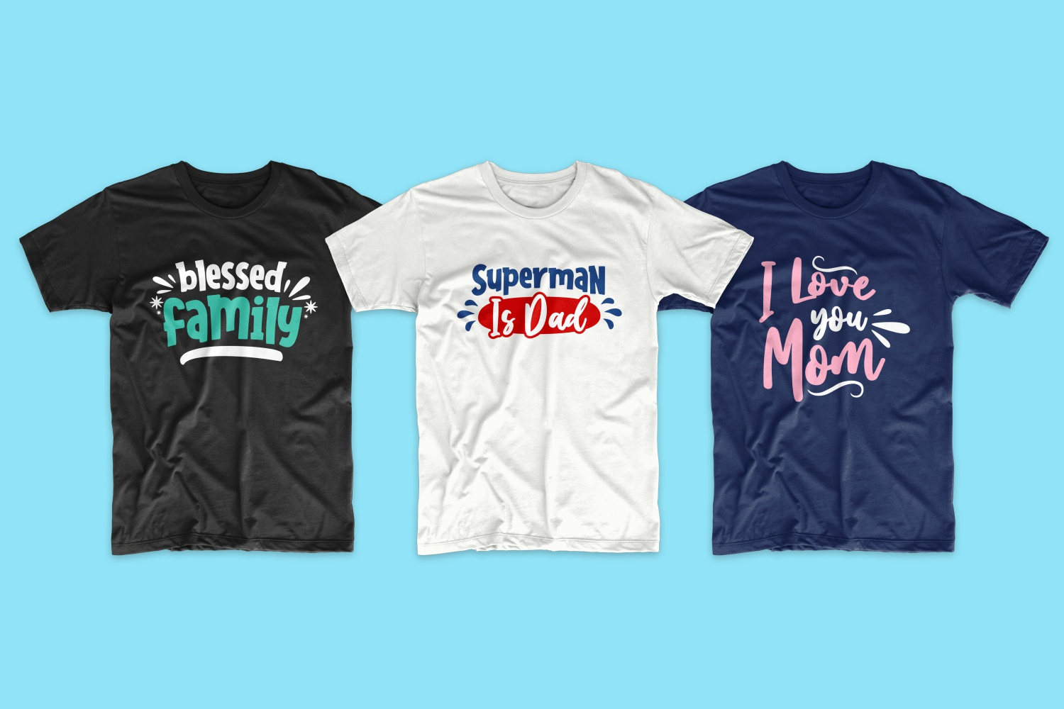 50 Family T-shirt Design Bundle - cf 12 1