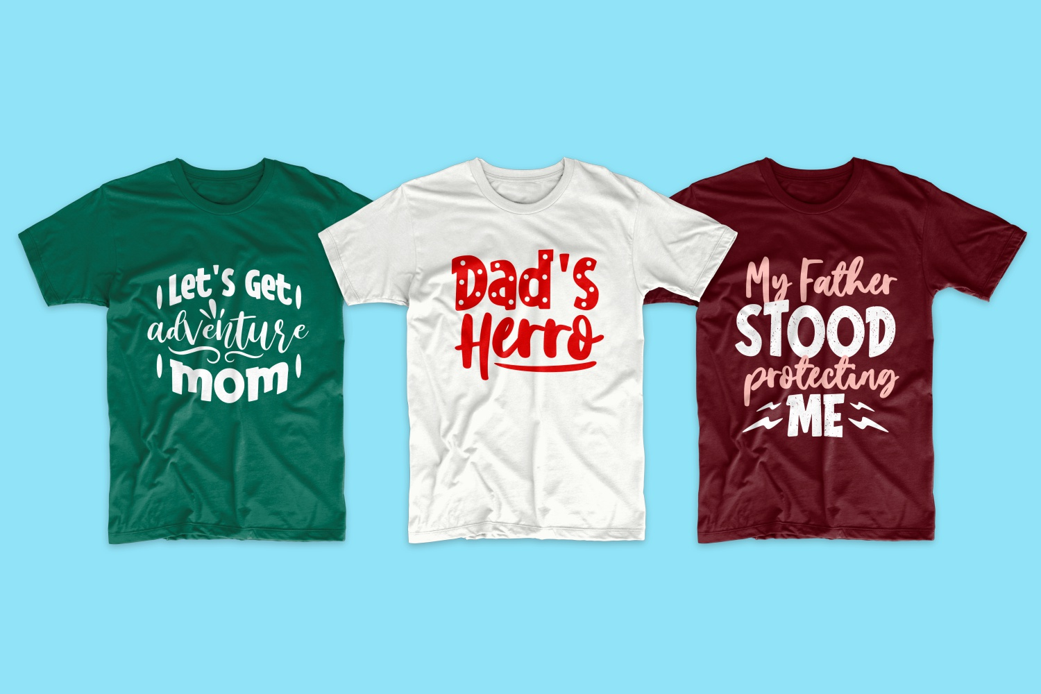 50 Family T-shirt Design Bundle - cf 13 1