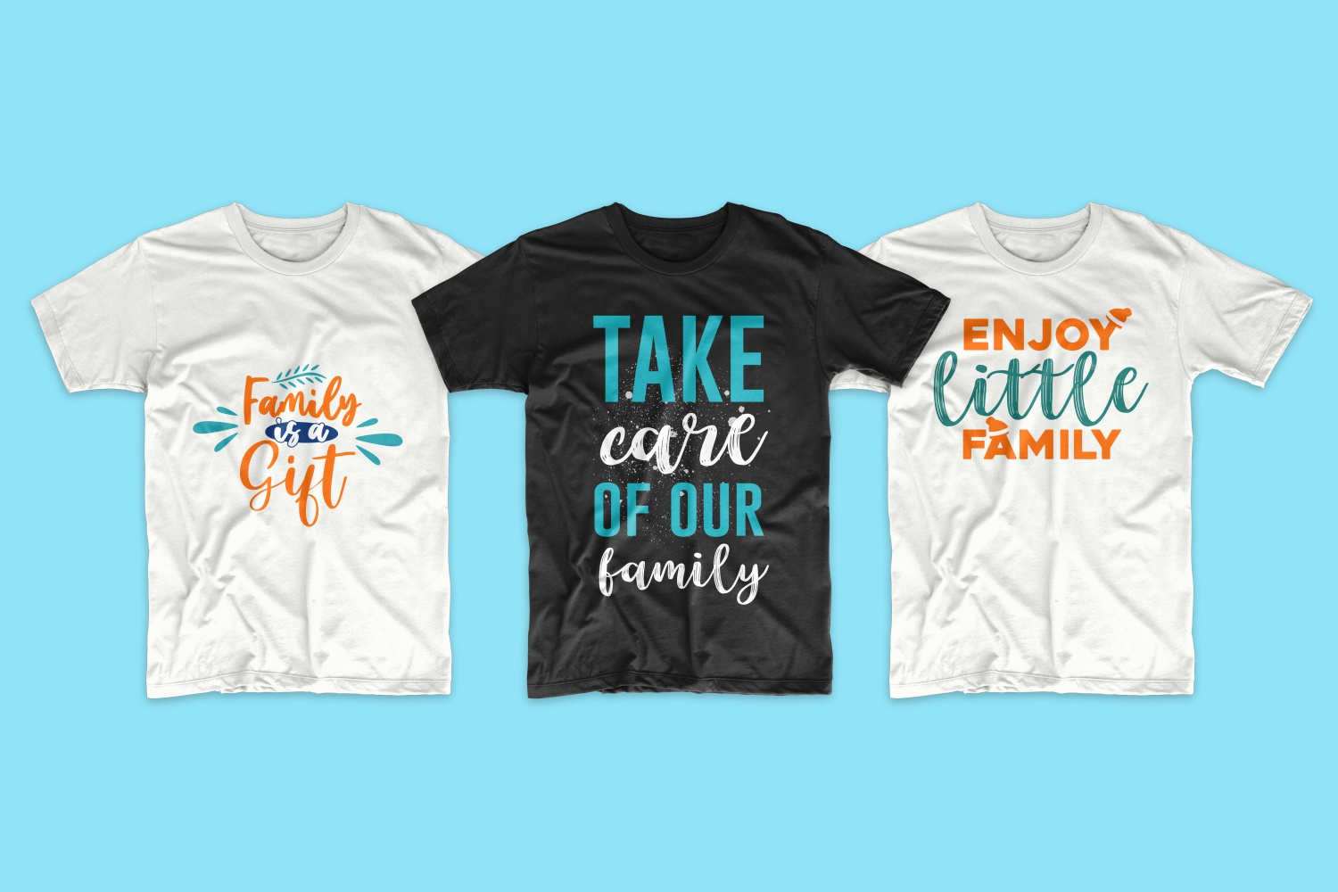 50 Family T-shirt Design Bundle - cf 14 1