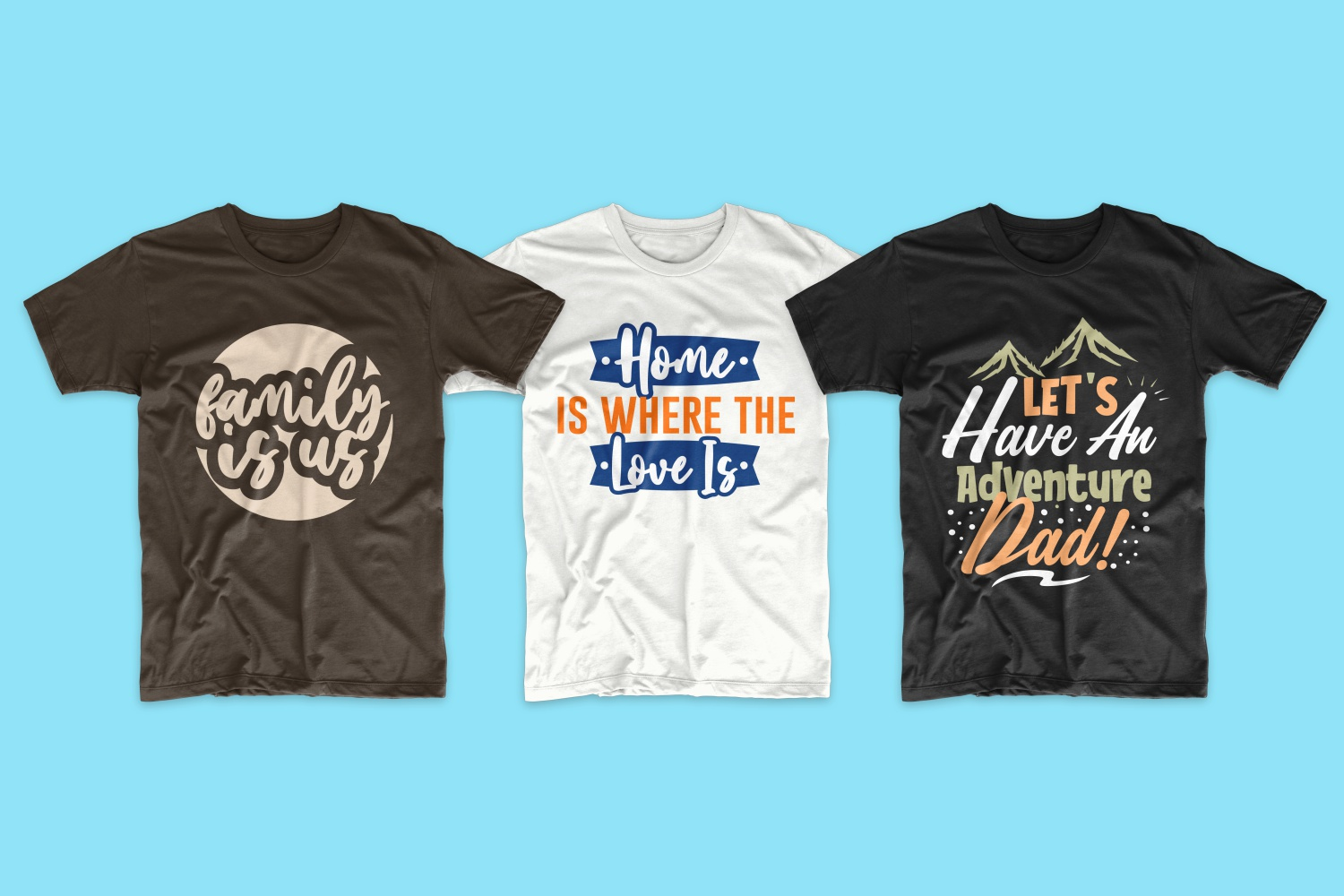 50 Family T-shirt Design Bundle - cf 3 1