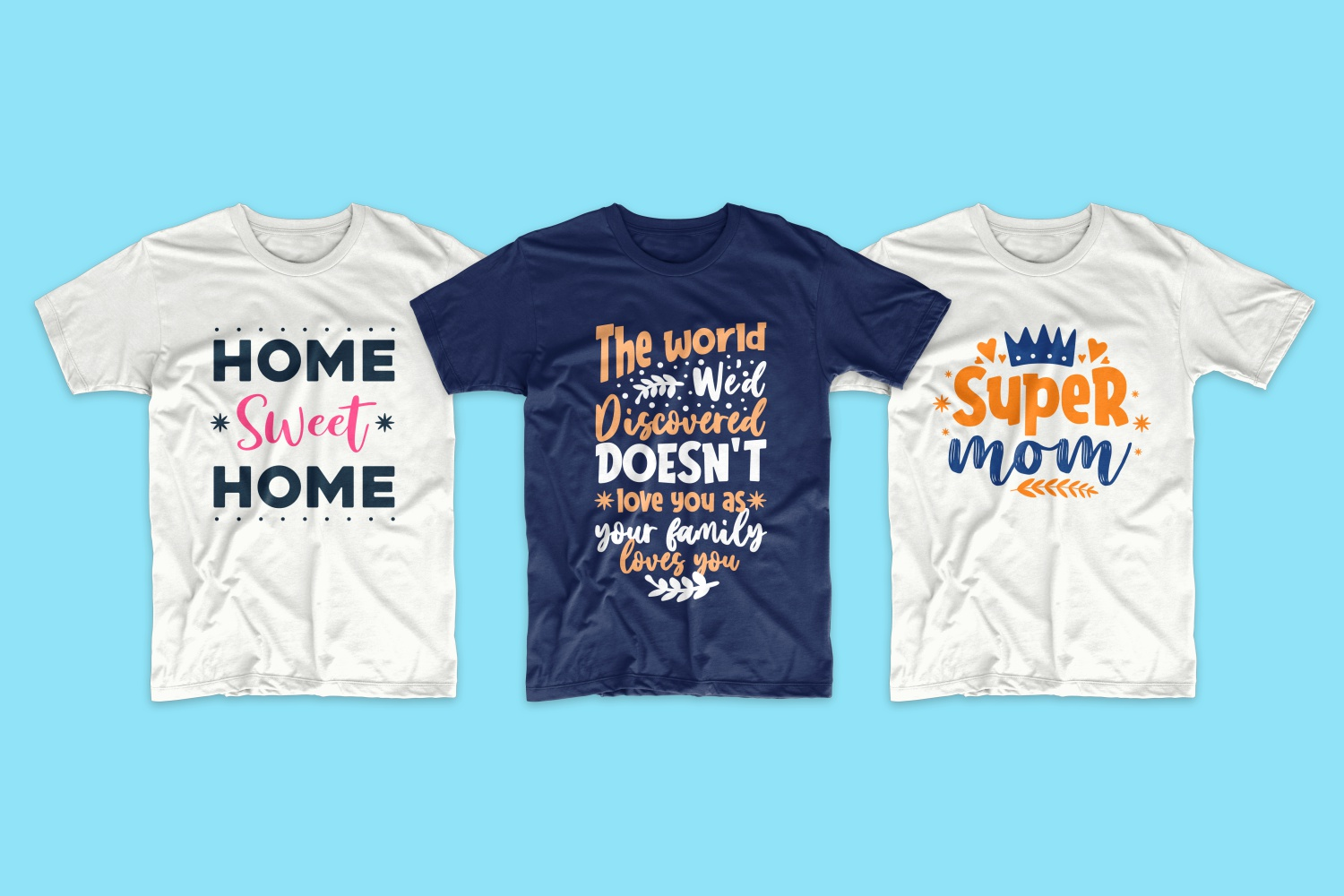 50 Family T-shirt Design Bundle - cf 6 1