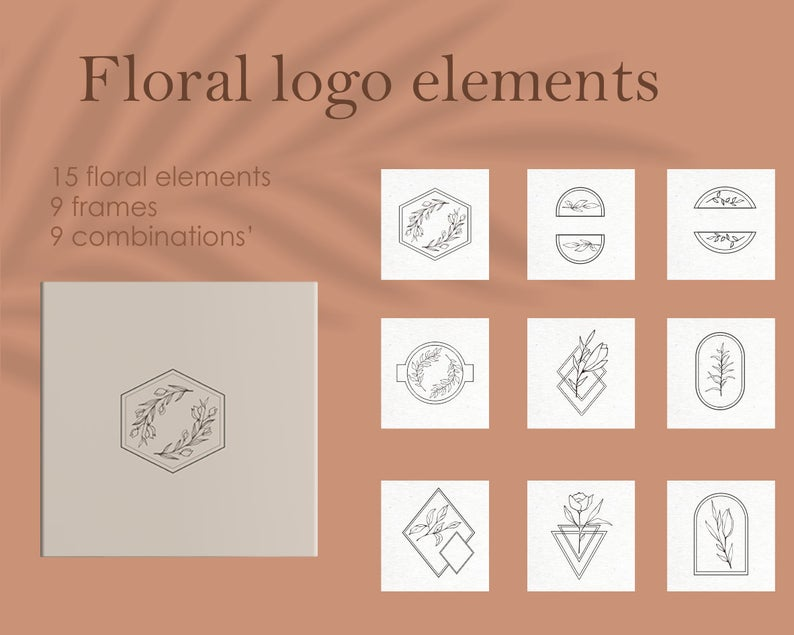 33 Floral Logo Design Elements - il 794xN.2736434351 fnmg