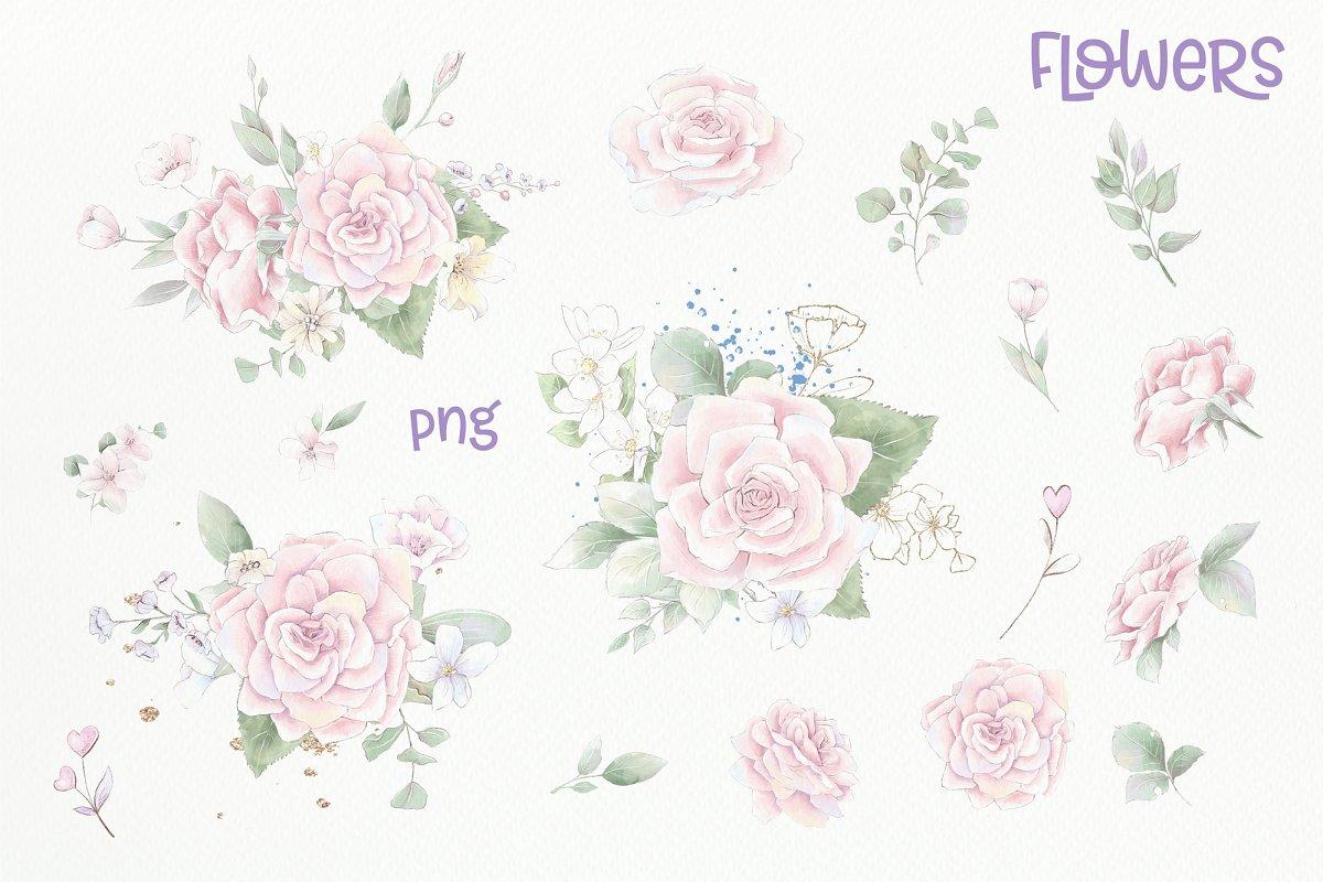 Valentine's Gnomes Clipart PNG - prw 1 3