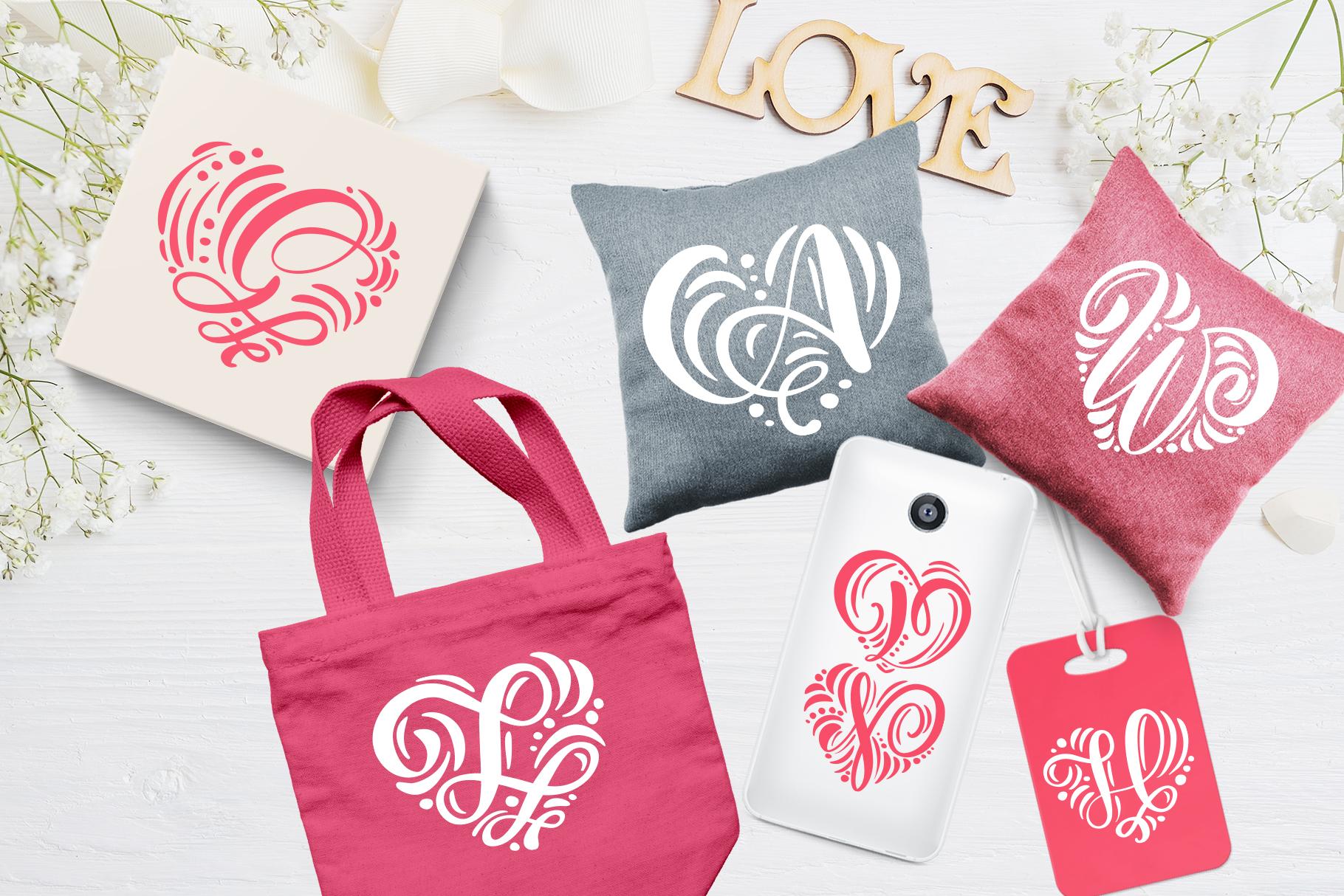 Monogram Valentine Font - title02