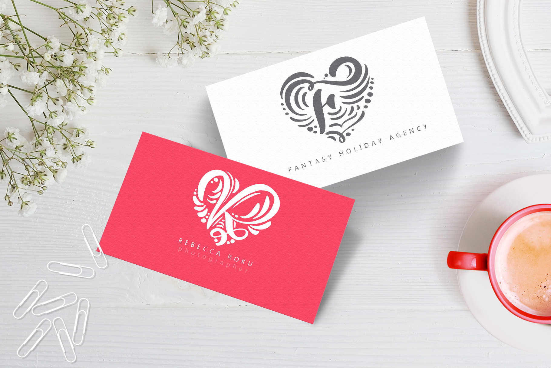 Monogram Valentine Font - title05