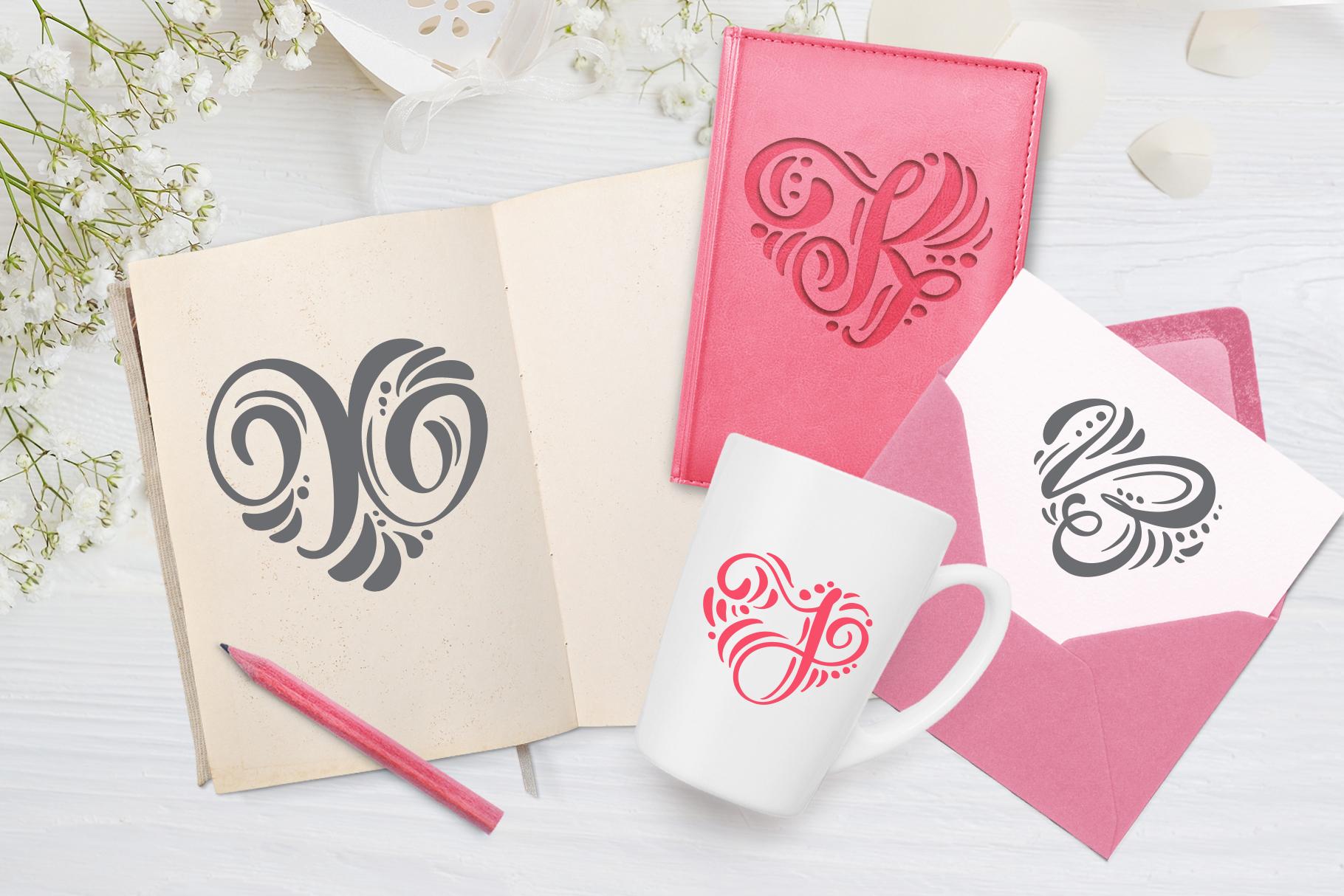 Monogram Valentine Font - title06