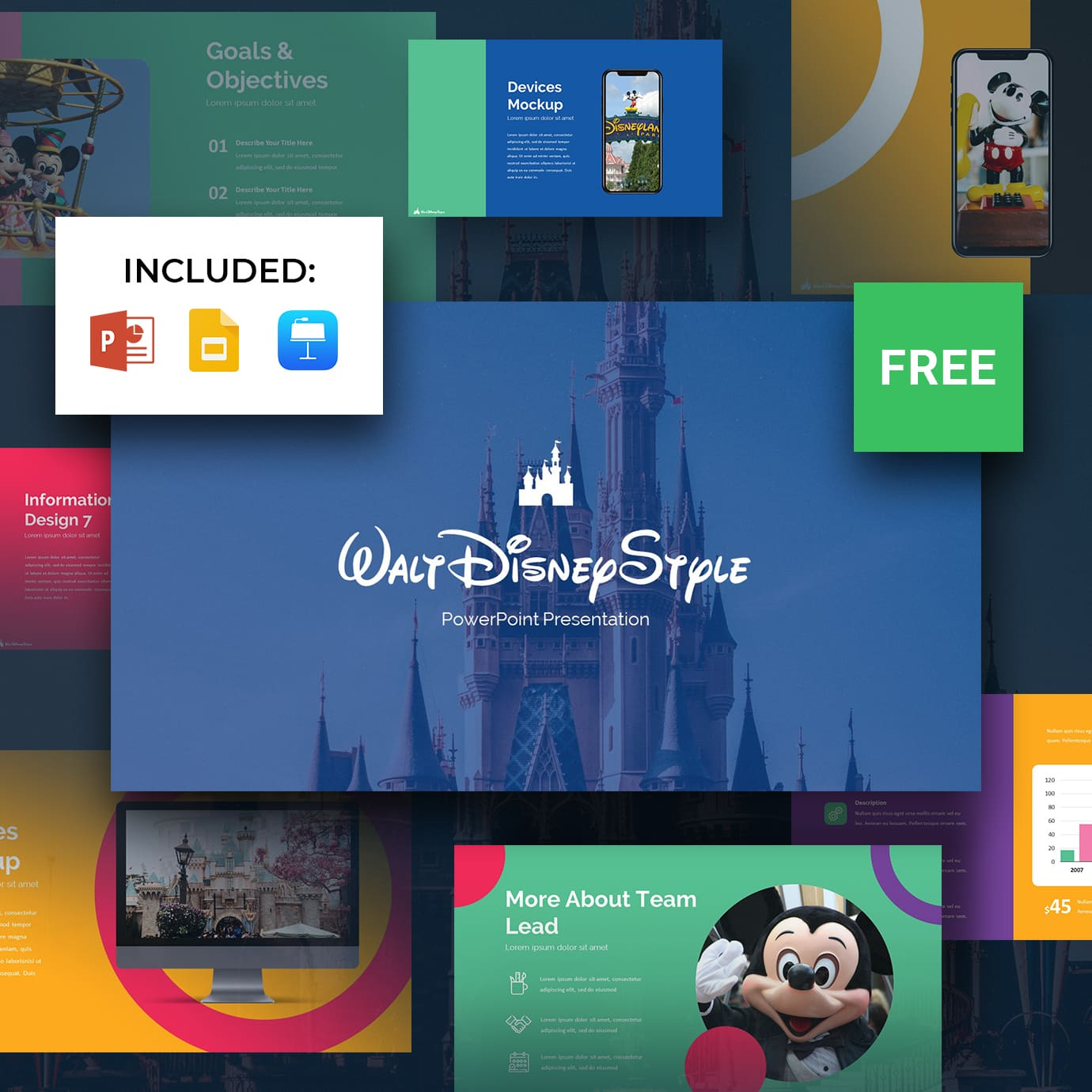 Free Disney Powerpoint Template