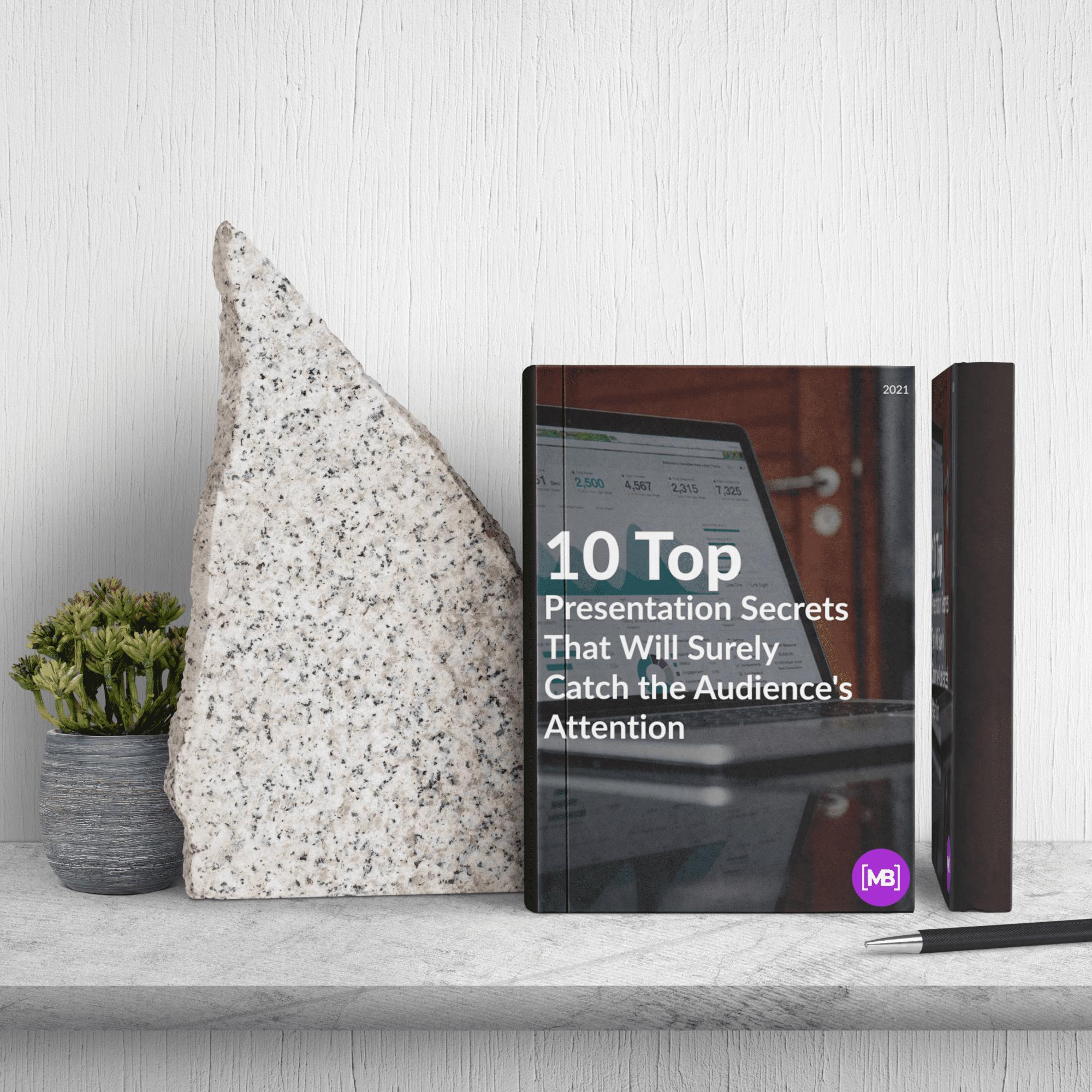Free White Paper: 10 Top Presentation Secrets. Cover image.