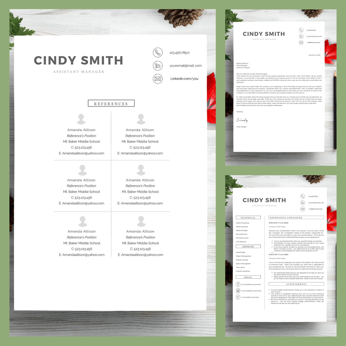 Professional Resume Template 2021