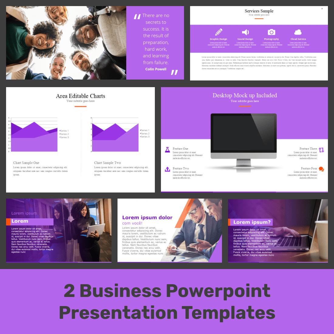 Business Powerpoint Presentation Templates