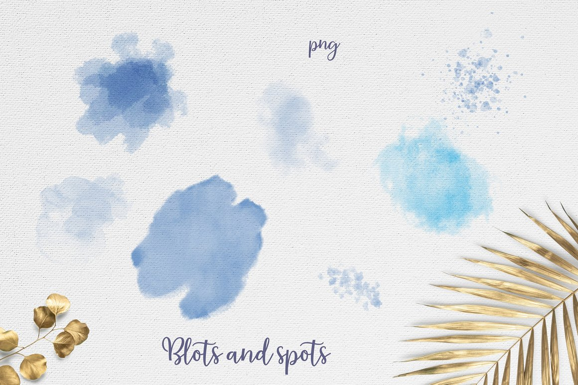 Orchids Clipart: Watercolor Flowers PNG