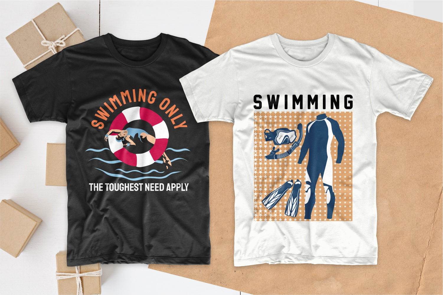 50 Swimming T-shirt Designs Bundle - 15