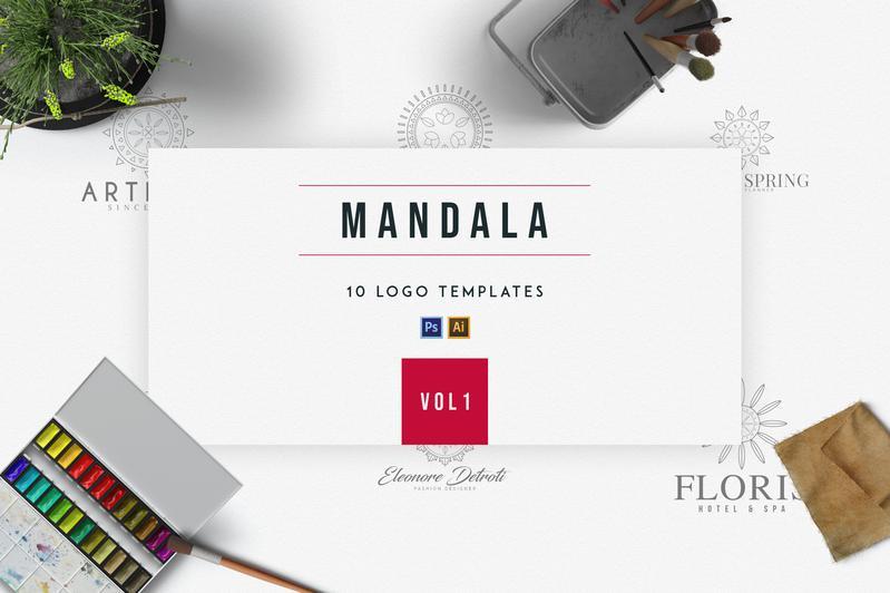 10 Mandala Logo Templates - 1 05db7f76 217a 4b52 b6da 9374387ffdb3 800x