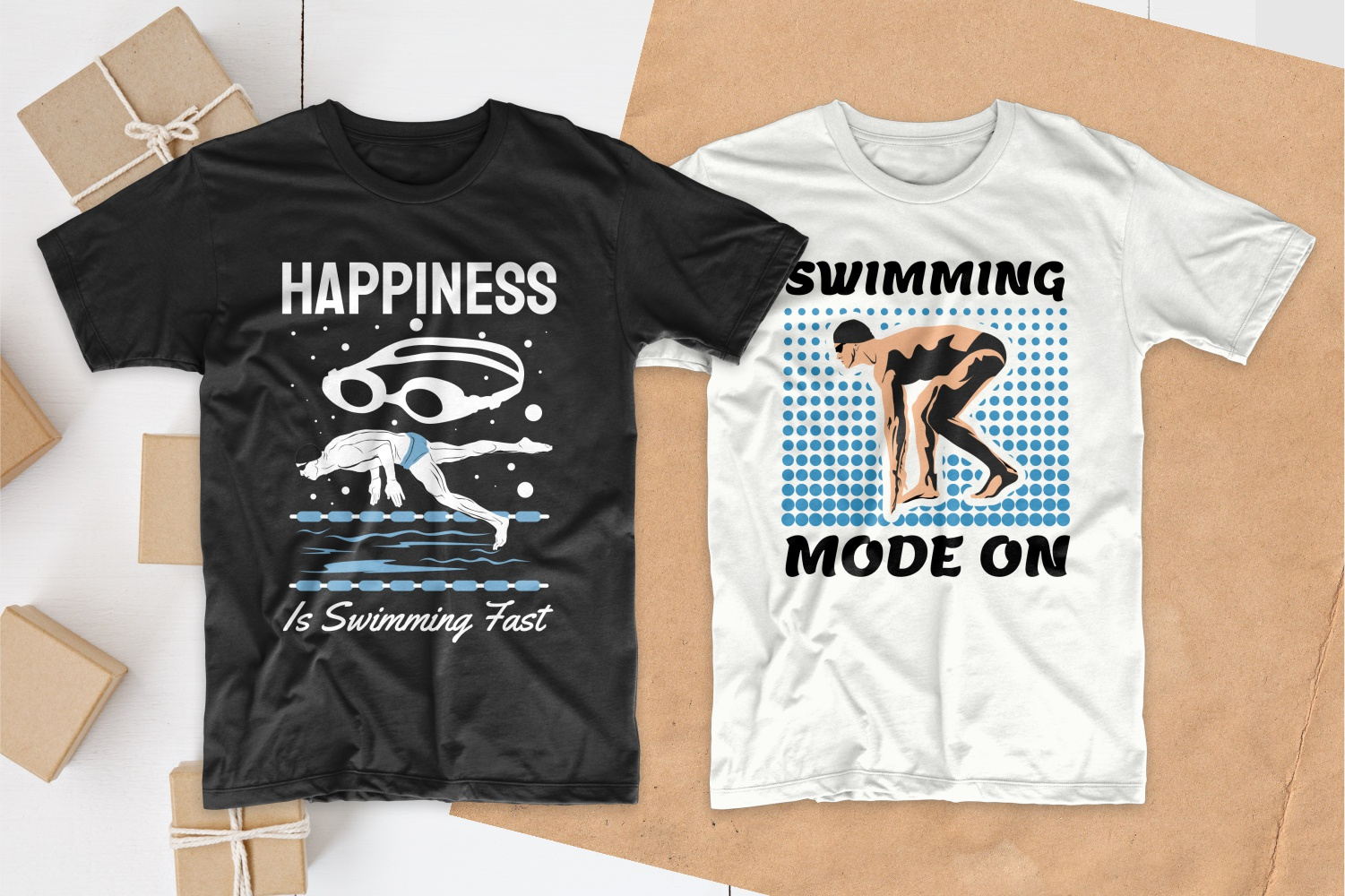 50 Swimming T-shirt Designs Bundle - 2