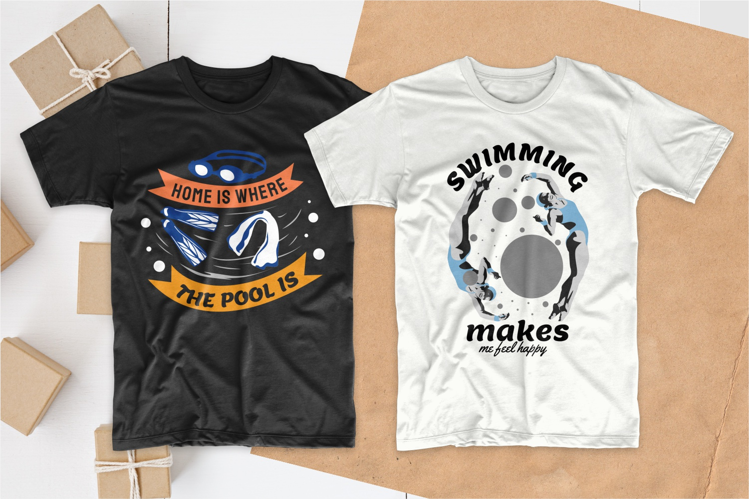 50 Swimming T-shirt Designs Bundle - 20