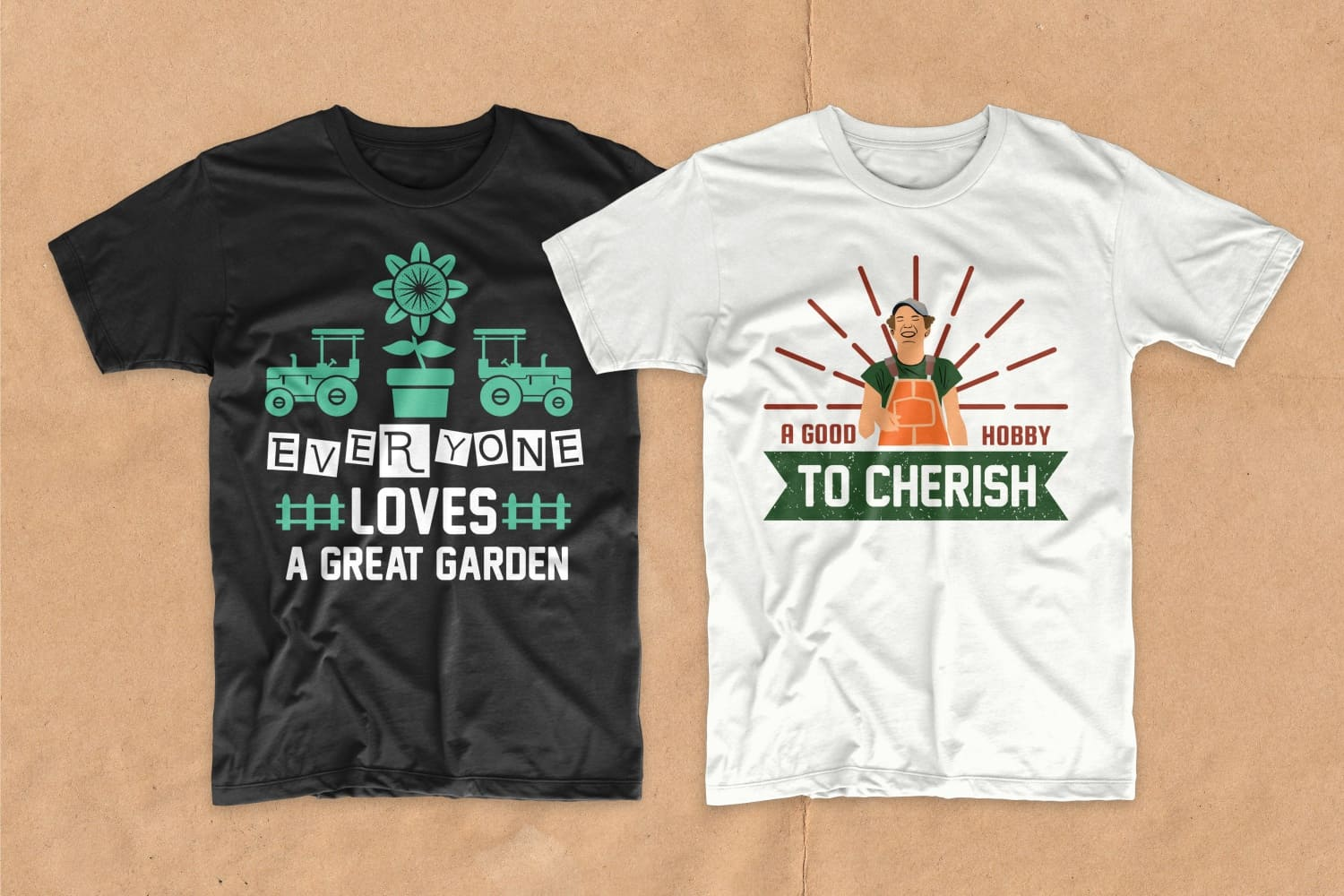 Gardening T-shirt Designs Bundle - 24 2
