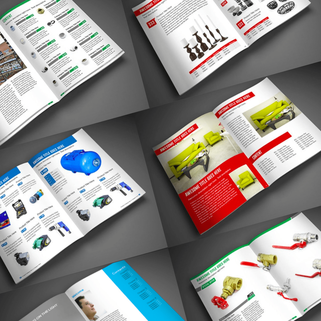 15 InDesign Product Catalogs