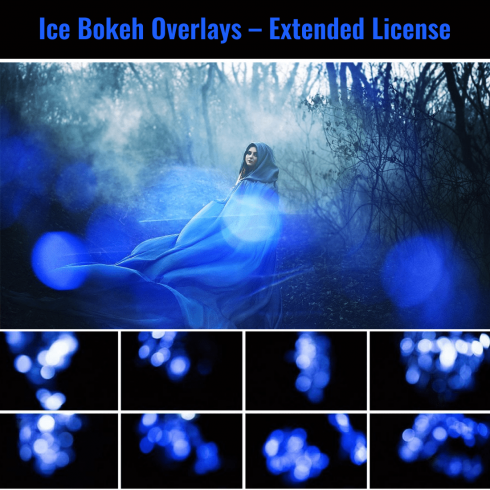 Ice Bokeh Overlays