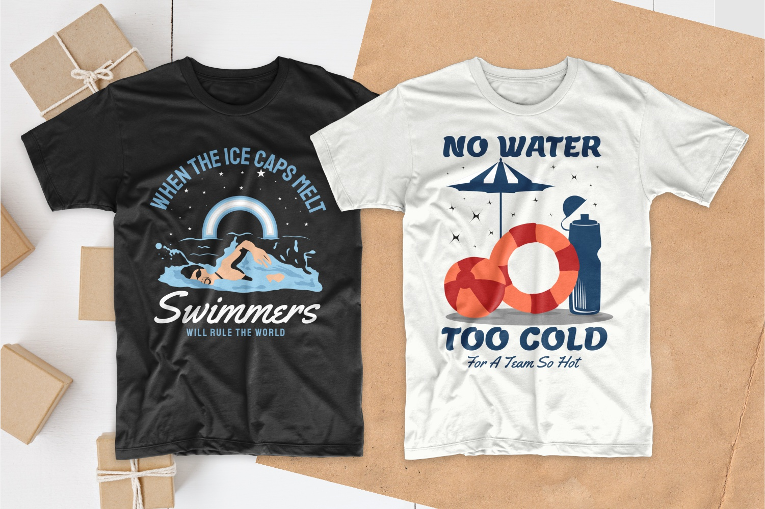 50 Swimming T-shirt Designs Bundle - 3