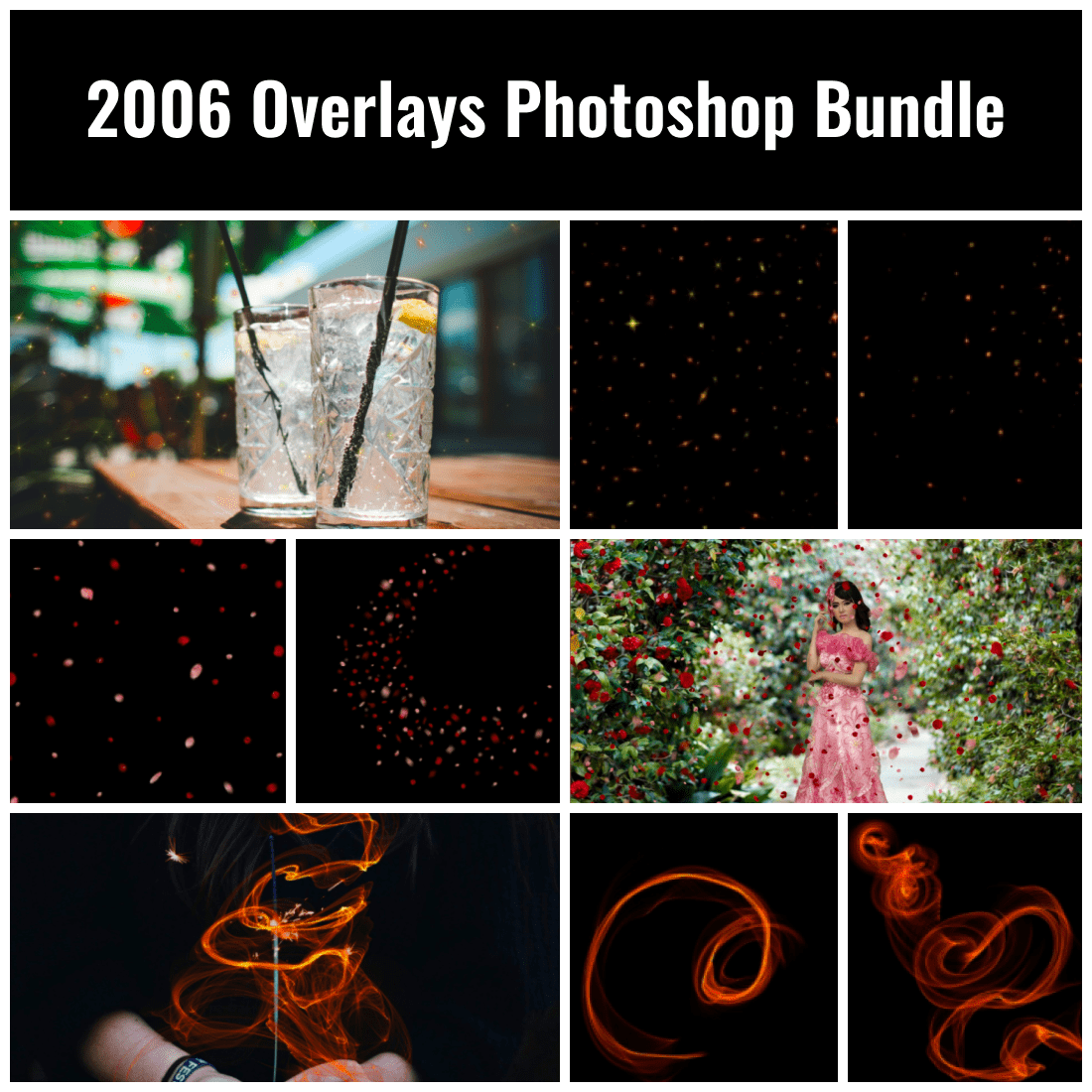 2006 Overlays Photoshop Bundle
