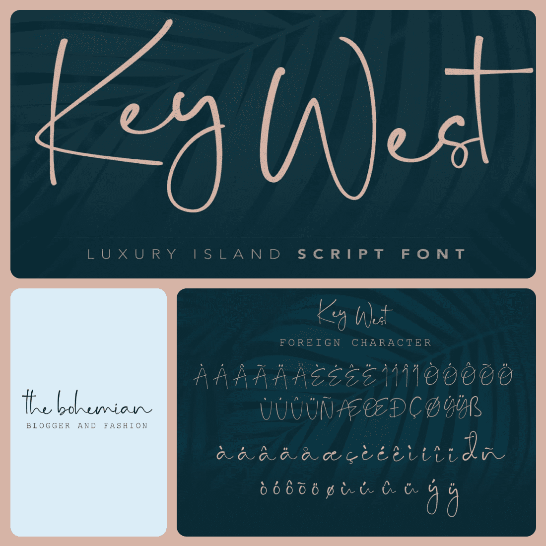 Key West Script Font