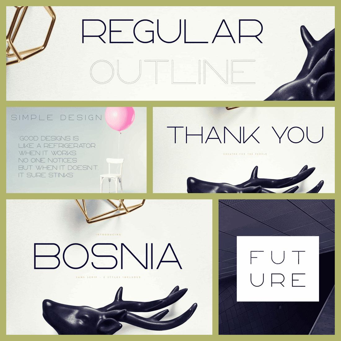 Rounded Sans Serif Font Bosnia