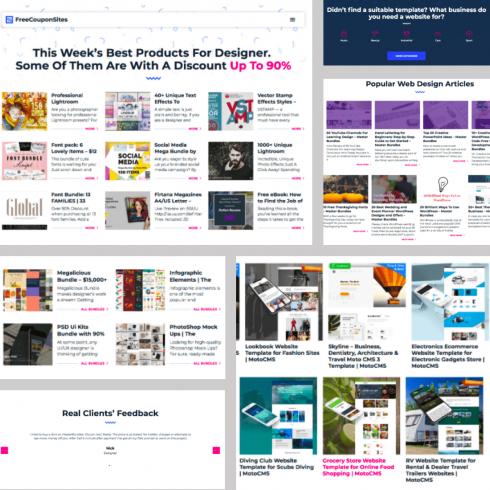 Free Landing Page WordPress Theme to Start Online Business