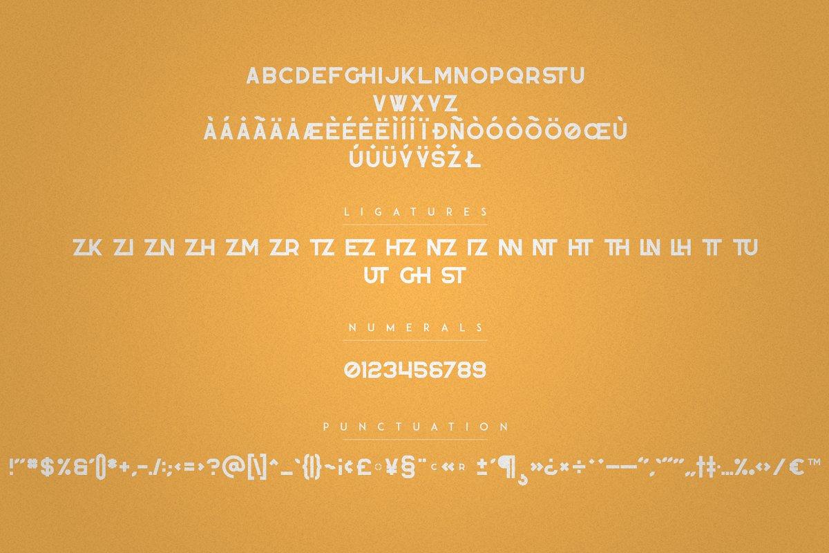 Zink - Bold Display Fonts - 8 1 2