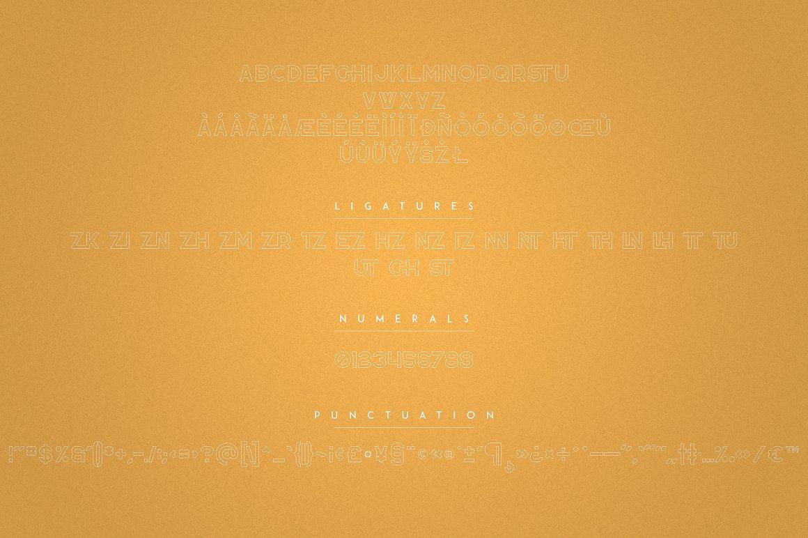 Zink - Bold Display Fonts - 9 1 2