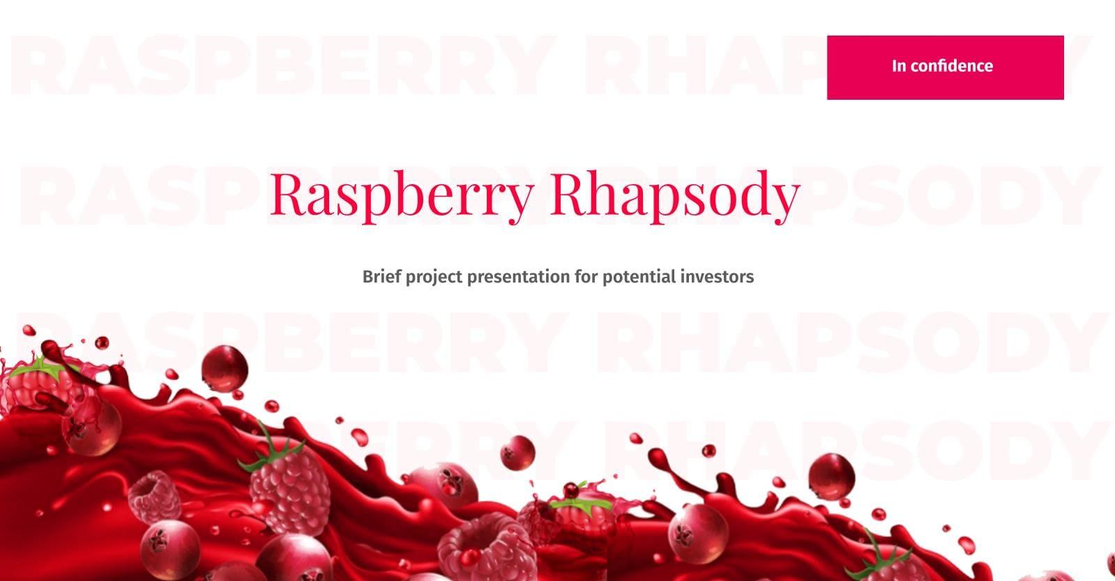 Free Feminine Presentation: Free Google Slide Theme and Powerpoint Template - BerrRaspberry Rhapsodyy – MB – free