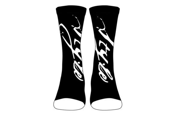 Socks Mockup Bundle - 55 Vector Template Mockups - Crew Socks Vector Template Mockup Graphics 4618424 1 580x387