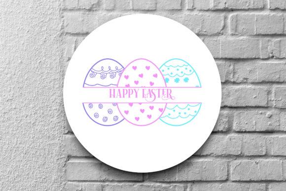 Easter Egg SVG Monogram Bundle - Easter Egg Monogram SVG Bundle Graphics 8807910 7 580x387