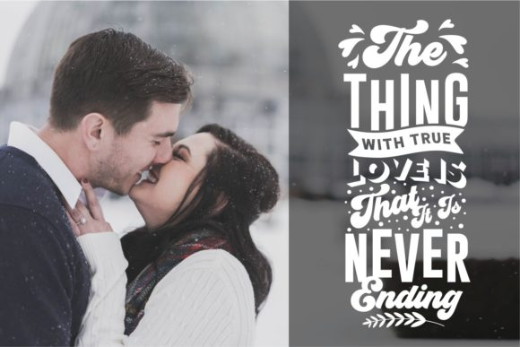 Romantic and Love Quotes SVG Bundle - Love and Romantic Quotes SVG Bundle Graphics 7433873 8 580x387
