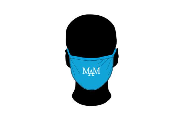 Manufactured Face Mask Mockup - Vector Mockup Template