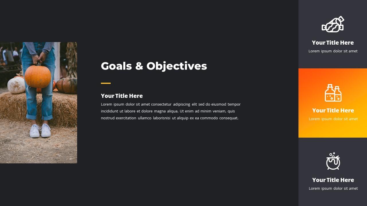 Halloween Presentation: Powerpoint, Google Slides & Keynote Templates - 50 Slides