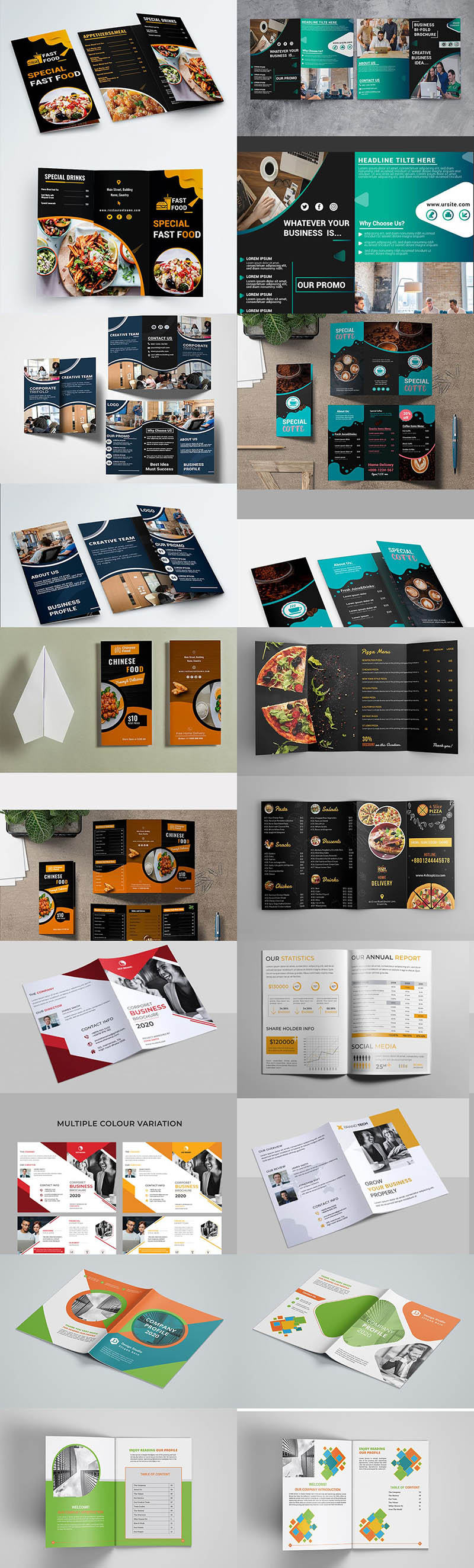 50 Brochures with Extended License - Only $19