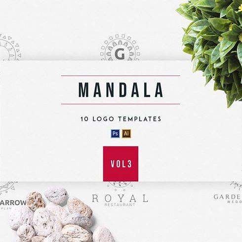 Mandala Logo Vector