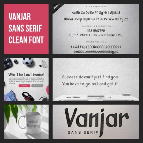 Sans Serif Clean Font