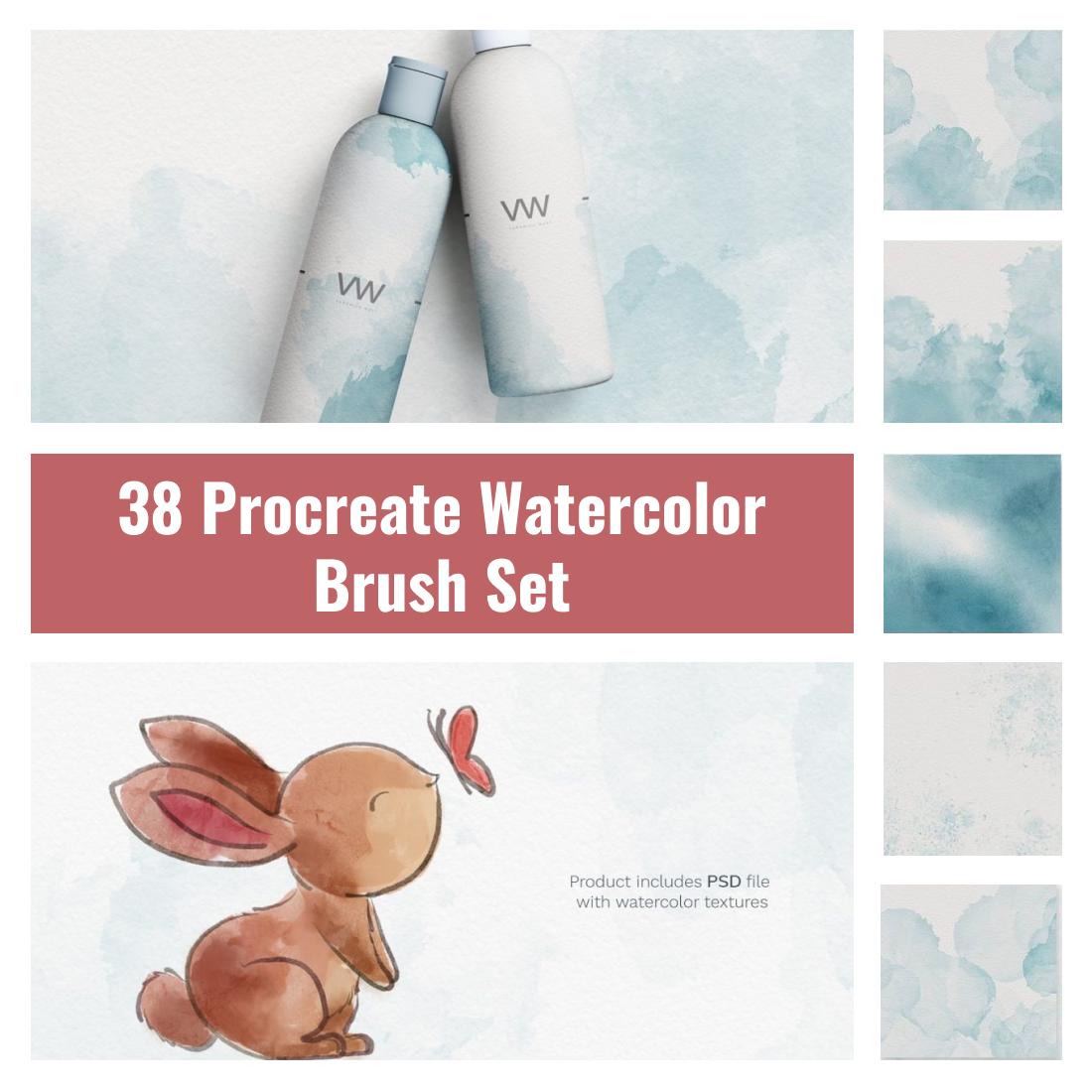 Procreate Watercolor Brush