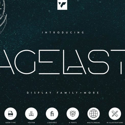 Agelast Display Font