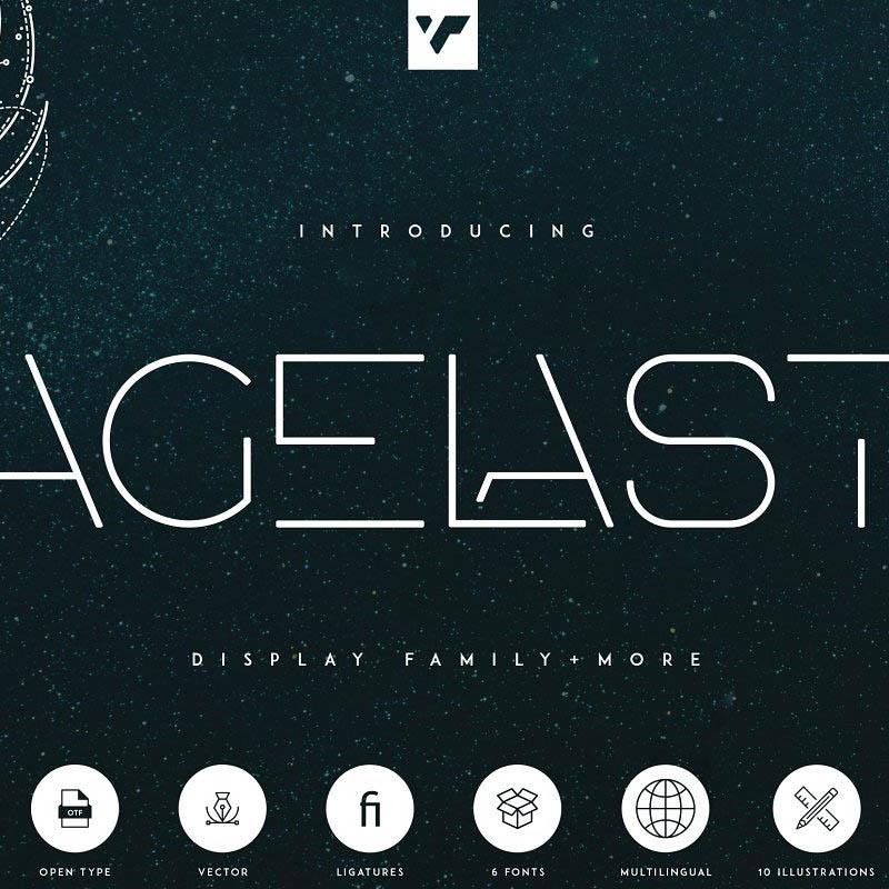 Agelast Display Font