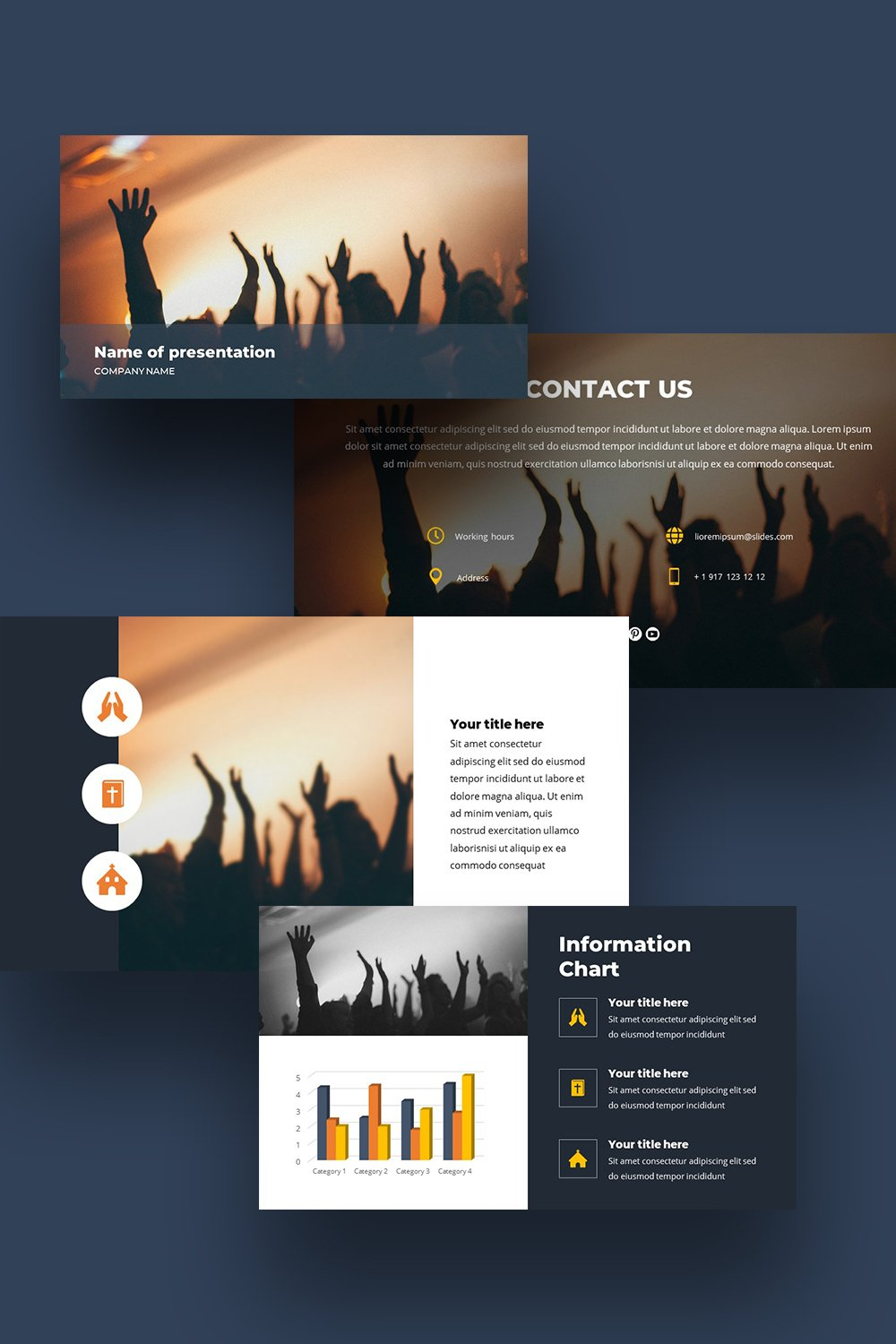 Soul is a free Powerpoint Background template for personal and commercial purposes.